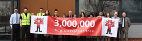 IDS passes the impressive milestone of three million working hours accident free!
