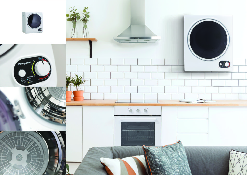 Montpellier Launch A Compact Wall Mounted Tumble Dryer