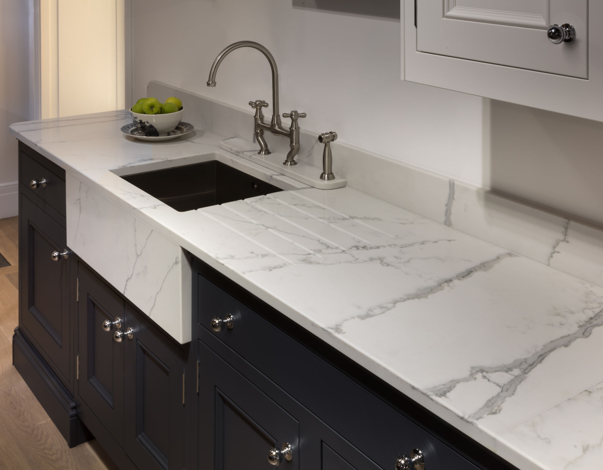 new marble effect quartz for pws worksurfaces strata brand