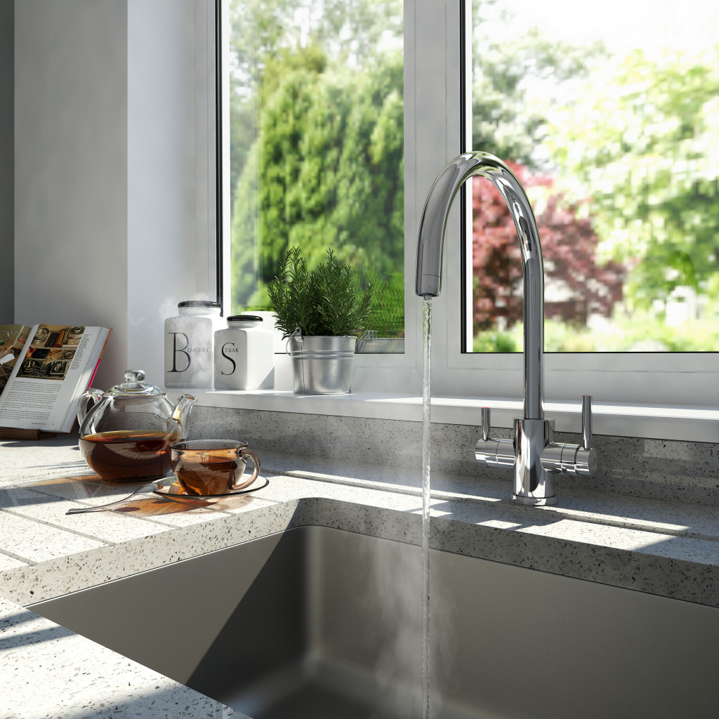 perrin rowes phoenix  in  hot water tap high res lifestyle : perrin rowe lifestyle