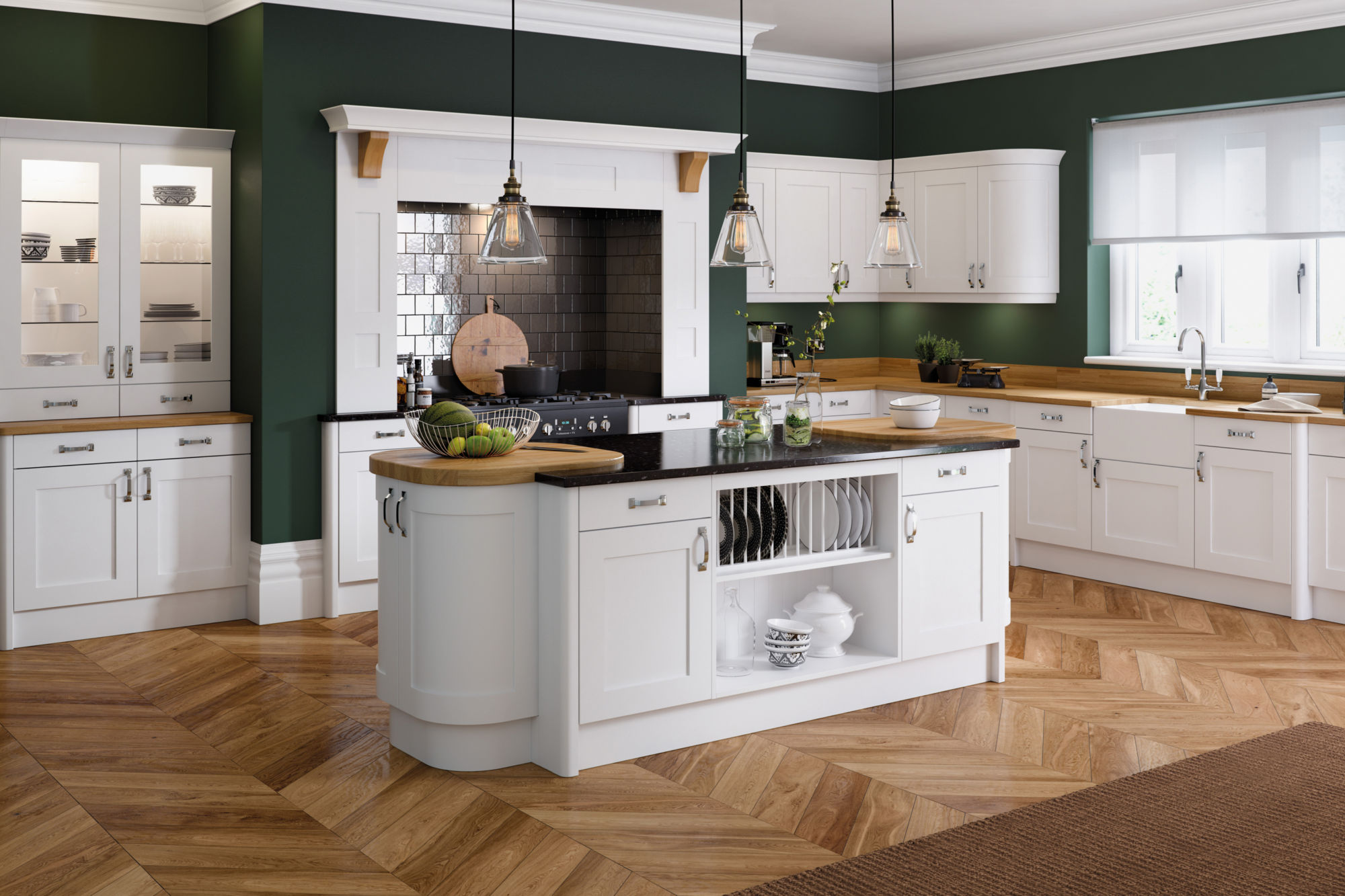 Tkc launches the oxford range of classic shaker doors with for Oxford kitchen and bath