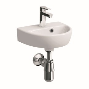 Twyford adds cloakroom and family basins to its e100 value range