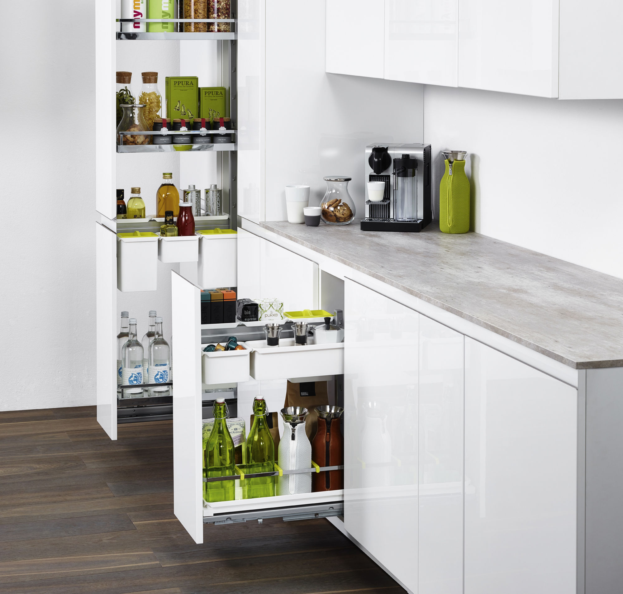 11 Creative Kitchen Upgrades: Creative And Considered Storage With PWS' YouBoXx