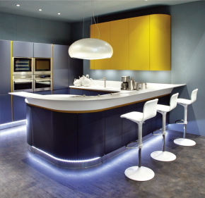 Limitless creativity in kitchen design, thanks to James Latham